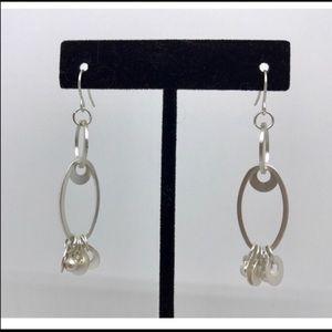 "NWOT Premier Designs ""Silver Infusion"" earrings"